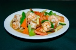 196 - Shrimp and Mixed Vegetable